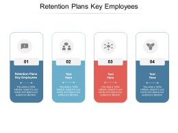 Retention Plans Key Employees Ppt Powerpoint Presentation Slide Download Cpb