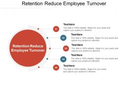 Retention Reduce Employee Turnover Ppt Powerpoint Presentation Styles Example File Cpb