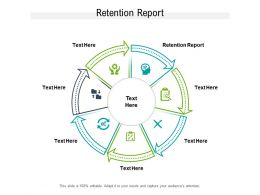 Retention Report Ppt Powerpoint Presentation Summary Pictures Cpb