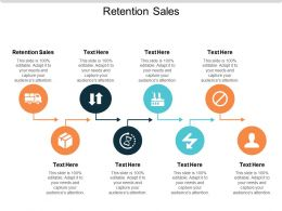 Retention Sales Ppt Powerpoint Presentation Slides Layout Ideas Cpb