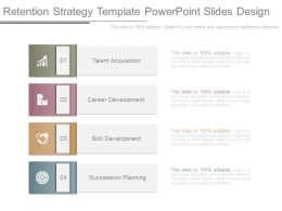 Retention Strategy Template Powerpoint Slides Design
