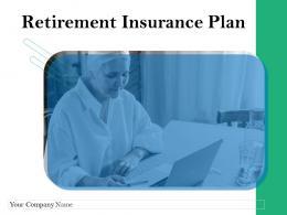 Retirement Insurance Plan Powerpoint Presentation Slides