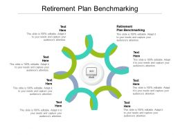 Retirement Plan Benchmarking Ppt Powerpoint Presentation Styles Tips Cpb