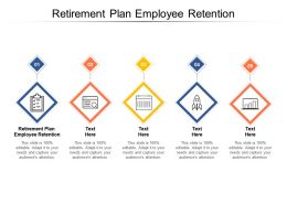 Retirement Plan Employee Retention Ppt Powerpoint Presentation Styles Sample Cpb