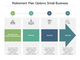 Retirement Plan Options Small Business Ppt Powerpoint Presentation Pictures Example Cpb