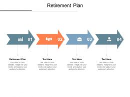 Retirement Plan Ppt Powerpoint Presentation Ideas Visual Aids Cpb