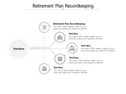 Retirement Plan Recordkeeping Ppt Powerpoint Presentation Show Master Slide Cpb