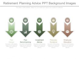 Retirement Planning Advice Ppt Background Images