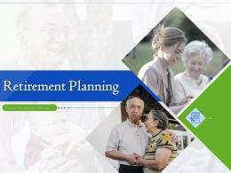 Retirement Planning Powerpoint Presentation Slides