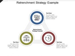 Retrenchment Strategy Example Ppt Powerpoint Presentation Summary Deck Cpb