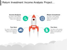 Return Investment Income Analysis Project Management Governance Models Cpb