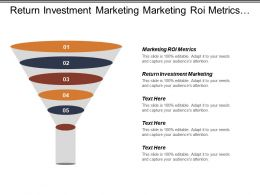 Return Investment Marketing Marketing Roi Metrics Investment Analysis Cpb