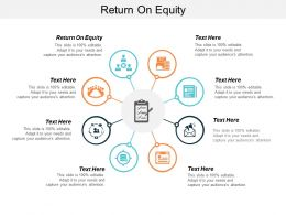Return On Equity Ppt Powerpoint Presentation Icon Microsoft Cpb