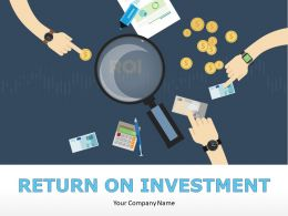 Return On Investment Powerpoint Presentation Slides