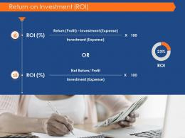 Return On Investment Roi Success Evaluation Ppt Powerpoint Presentation Diagrams
