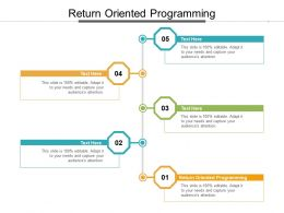 Return Oriented Programming Ppt Powerpoint Presentation Layouts Model Cpb