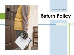 Return Policy Process Description Management Product Dollar Business