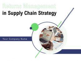 Returns Management In Supply Chain Strategy Powerpoint Presentation Slides