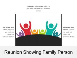 Reunion Showing Family Person