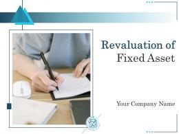 Revaluation Of Fixed Asset Powerpoint Presentation Slides