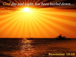 Revelation 12 10 God Day And Night Has Been Powerpoint Church Sermon