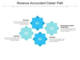 Revenue Accountant Career Path Ppt Powerpoint Presentation Slides Show Cpb