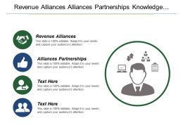 Revenue Alliances Alliances Partnerships Knowledge Management Training Reward