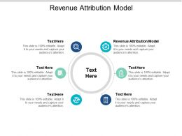 Revenue Attribution Model Ppt Powerpoint Presentation Styles Visuals Cpb