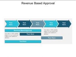 Revenue Based Approval Ppt Powerpoint Presentation Icon Show Cpb