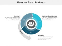 Revenue Based Business Ppt Powerpoint Presentation Portfolio Design Templates Cpb