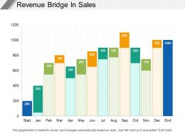 Revenue Bridge In Sales
