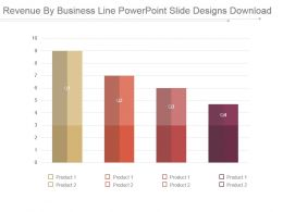 Revenue By Business Line Powerpoint Slide Designs Download
