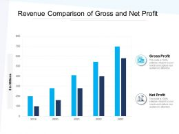 Revenue Comparison Of Gross And Net Profit