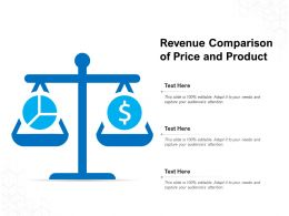 Revenue Comparison Of Price And Product