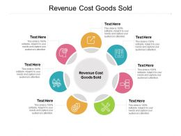 Revenue Cost Goods Sold Ppt Powerpoint Presentation Model Visuals Cpb