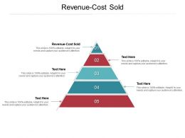 Revenue Cost Sold Ppt Powerpoint Presentation Icon Ideas Cpb
