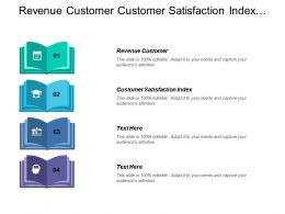 Revenue Customer Customer Satisfaction Index Ending Cash Business Case