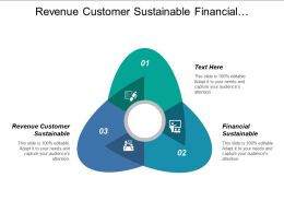 Revenue Customer Sustainable Financial Sustainable Expand Business Capability