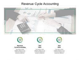 Revenue Cycle Accounting Ppt Powerpoint Presentation File Master Slide Cpb