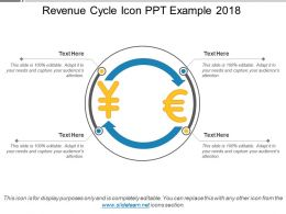 Revenue Cycle Icon Ppt Example 2018