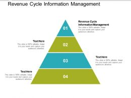 Revenue Cycle Information Management Ppt Powerpoint Presentation Portfolio Cpb