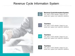 Revenue Cycle Information System Ppt Powerpoint Presentation Portfolio Aids Cpb