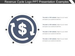 Revenue Cycle Logo Ppt Presentation Examples