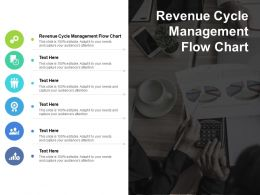 Revenue Cycle Management Flow Chart Ppt Powerpoint Presentation File Good Cpb