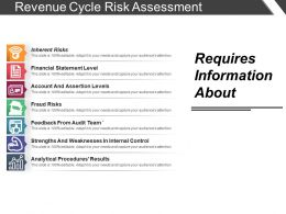 Revenue Cycle Risk Assessment Ppt Samples Download