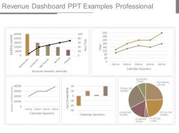 Revenue Dashboard Ppt Examples Professional