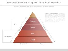 Revenue Driven Marketing Ppt Sample Presentations