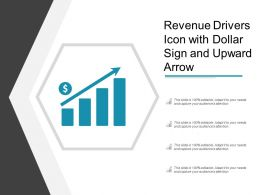 Revenue Drivers Icon With Dollar Sign And Upward Arrow