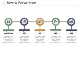 Revenue Forecast Model Ppt Powerpoint Presentation File Show Cpb
