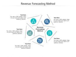 Revenue Forecasting Method Ppt Powerpoint Presentation Outline Microsoft Cpb